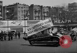 Image of decorated floats New York United States USA, 1918, second 3 stock footage video 65675048771