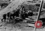 Image of United States artillery firing at German forces Cantigny France, 1918, second 11 stock footage video 65675048779