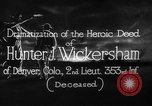 Image of Lieutenant Hunter J Wickersham United States USA, 1918, second 6 stock footage video 65675048782