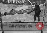 Image of Navy billboard promoting 4th Liberty Loan Washington DC USA, 1918, second 4 stock footage video 65675048784