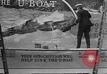 Image of Navy billboard promoting 4th Liberty Loan Washington DC USA, 1918, second 10 stock footage video 65675048784