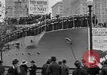Image of Facsimile battleship in Victory Bond Drive New York City USA, 1919, second 6 stock footage video 65675048788