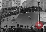 Image of Facsimile battleship in Victory Bond Drive New York City USA, 1919, second 7 stock footage video 65675048788