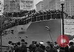Image of Facsimile battleship in Victory Bond Drive New York City USA, 1919, second 8 stock footage video 65675048788