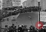 Image of Facsimile battleship in Victory Bond Drive New York City USA, 1919, second 9 stock footage video 65675048788