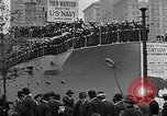 Image of Facsimile battleship in Victory Bond Drive New York City USA, 1919, second 11 stock footage video 65675048788