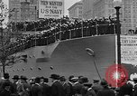 Image of Facsimile battleship in Victory Bond Drive New York City USA, 1919, second 12 stock footage video 65675048788