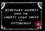 Image of Josephus Daniels Pittsburgh Pennsylvania USA, 1918, second 7 stock footage video 65675048792