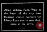 Image of Two Thousand women participate in Liberty Loan Drive Pittsburgh Pennsylvania USA, 1918, second 3 stock footage video 65675048793