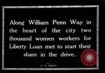 Image of Two Thousand women participate in Liberty Loan Drive Pittsburgh Pennsylvania USA, 1918, second 4 stock footage video 65675048793