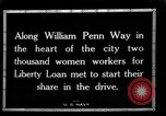 Image of Two Thousand women participate in Liberty Loan Drive Pittsburgh Pennsylvania USA, 1918, second 11 stock footage video 65675048793