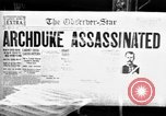 Image of World War I newspaper headlines United States USA, 1917, second 10 stock footage video 65675048804