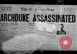 Image of World War I newspaper headlines United States USA, 1917, second 11 stock footage video 65675048804