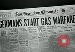 Image of gas warfare European Theater, 1918, second 3 stock footage video 65675048807