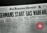 Image of gas warfare European Theater, 1918, second 4 stock footage video 65675048807