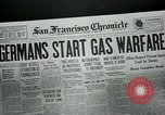 Image of gas warfare European Theater, 1918, second 7 stock footage video 65675048807