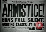 Image of end of World War I European Theater, 1918, second 11 stock footage video 65675048815