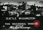 Image of Founding of Seattle Washington Seattle Washington USA, 1917, second 1 stock footage video 65675048827