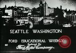 Image of Founding of Seattle Washington Seattle Washington USA, 1917, second 5 stock footage video 65675048827