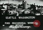 Image of Founding of Seattle Washington Seattle Washington USA, 1917, second 6 stock footage video 65675048827