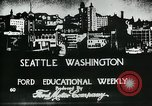 Image of Founding of Seattle Washington Seattle Washington USA, 1917, second 8 stock footage video 65675048827