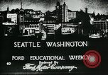 Image of Founding of Seattle Washington Seattle Washington USA, 1917, second 9 stock footage video 65675048827