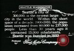 Image of Pictorial of Seattle Seattle Washington USA, 1917, second 2 stock footage video 65675048828