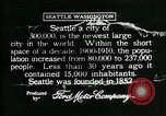 Image of Pictorial of Seattle Seattle Washington USA, 1917, second 5 stock footage video 65675048828