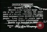Image of Pictorial of Seattle Seattle Washington USA, 1917, second 8 stock footage video 65675048828