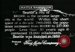 Image of Pictorial of Seattle Seattle Washington USA, 1917, second 9 stock footage video 65675048828