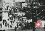 Image of downtown Seattle Washington USA, 1917, second 4 stock footage video 65675048830