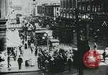 Image of downtown Seattle Washington USA, 1917, second 8 stock footage video 65675048830