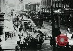 Image of downtown Seattle Washington USA, 1917, second 10 stock footage video 65675048830