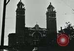 Image of Saint James Cathedral Seattle Washington USA, 1917, second 12 stock footage video 65675048832