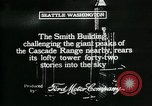 Image of Smith Tower soon after completion Seattle Washington USA, 1917, second 2 stock footage video 65675048833