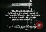 Image of Smith Tower soon after completion Seattle Washington USA, 1917, second 3 stock footage video 65675048833