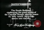 Image of Smith Tower soon after completion Seattle Washington USA, 1917, second 6 stock footage video 65675048833