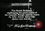 Image of Smith Tower soon after completion Seattle Washington USA, 1917, second 10 stock footage video 65675048833