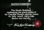 Image of Smith Tower soon after completion Seattle Washington USA, 1917, second 11 stock footage video 65675048833