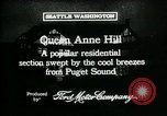 Image of Queen Anne Hill Seattle Washington USA, 1917, second 2 stock footage video 65675048835