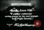 Image of Queen Anne Hill Seattle Washington USA, 1917, second 3 stock footage video 65675048835