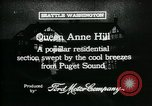 Image of Queen Anne Hill Seattle Washington USA, 1917, second 4 stock footage video 65675048835