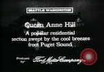 Image of Queen Anne Hill Seattle Washington USA, 1917, second 7 stock footage video 65675048835