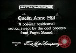 Image of Queen Anne Hill Seattle Washington USA, 1917, second 9 stock footage video 65675048835