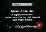 Image of Queen Anne Hill Seattle Washington USA, 1917, second 10 stock footage video 65675048835