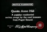 Image of Queen Anne Hill Seattle Washington USA, 1917, second 12 stock footage video 65675048835
