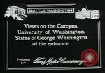 Image of University of Washington Seattle Washington USA, 1917, second 2 stock footage video 65675048836