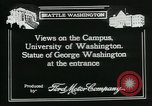 Image of University of Washington Seattle Washington USA, 1917, second 4 stock footage video 65675048836