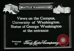 Image of University of Washington Seattle Washington USA, 1917, second 8 stock footage video 65675048836