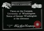 Image of University of Washington Seattle Washington USA, 1917, second 9 stock footage video 65675048836